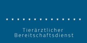 Tierärztlicher Bereitschaftsdienst Dresden
